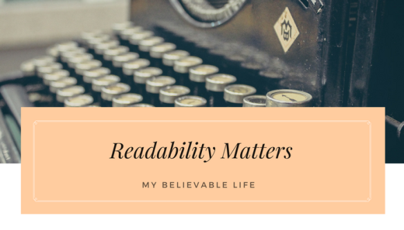 Read This for Tips on Readability